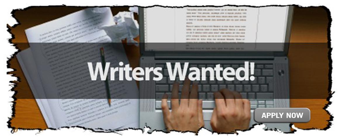 Magazine writers wanted